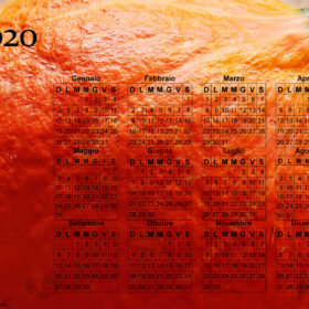 Calendario zucca del 2020