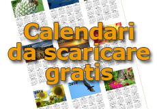 Calendari da scaricare gratis