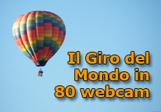 Il Giro del Mondo in 80 Webcam